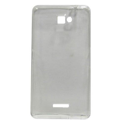 watch ee4fe 734cd Amaze Mobile Stylish Back Cover For Panasonic Eluga S-Transparent ...