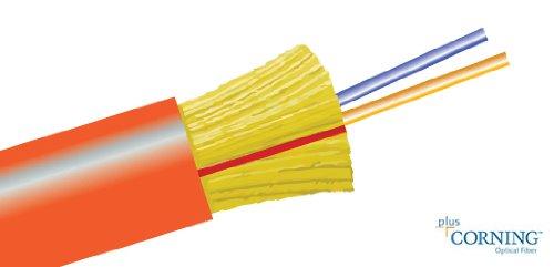 200FT Bulk Fiber Optic Cable Multimode 62.5/125 Duplex 200 ft