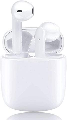 Wireless Earbuds Air Podswireless Bluetooth 5.0 Built in Mic Earbuds Noise Cancelling Earpods Headphones with Charging Case Touch Control Air Buds in-Ear Buds for Apple Airpods/iPhone/Android Earbud