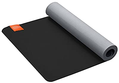 Now Athletics Eco Tpe Yoga Mat- Best for Moderate to Intense Exercise, 5mm Extra Thick Cushion , Antimicrobial Closed Cell Technology, Great for Beginners and Advanced Yogis, Eco-friendly, Easy to Clean, Free of Latex, Rubber & Toxic Chemicals. 5 Year War