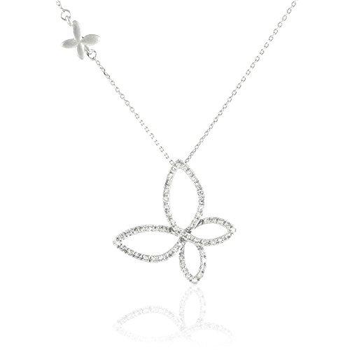 HISTOIRE D'OR - Collier Or et Diamant - Femme - Or blanc 375/1000
