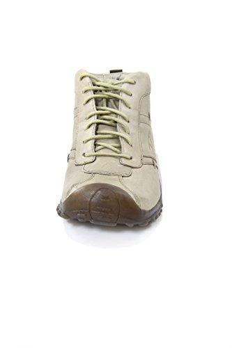 Diesel Leather Ankle Boots Venturio Colour Beige