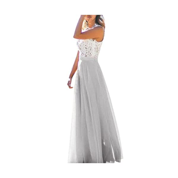Maxi Skirts for Women Chiffon Stretch High Waist Dress Skater Long Skirt
