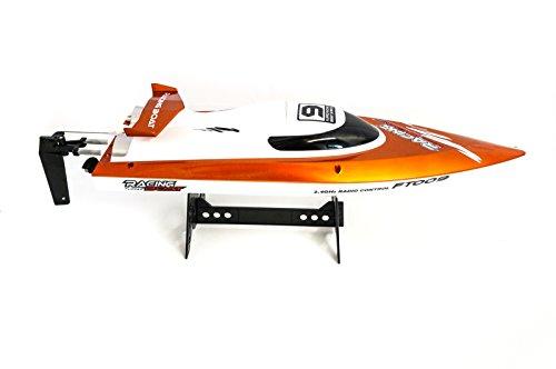efaso FT009 - 2.4 GHz Rennboot bis zu 30 km/h schnell, orange