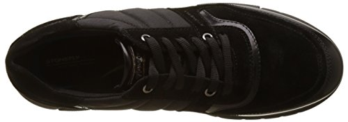 Stonefly Ve Nero Black Neptune O Baskets 3 Noir Brush Homme IITrw