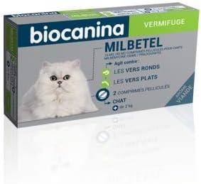 Biocanina milbetel vermifuge pour chats 2