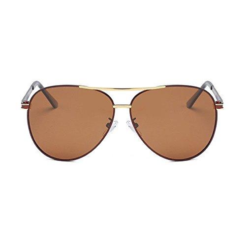 Regalos Hombre de de Sol Gafas Sol de Gafas de Sol Doble creativos electrochapado Axiba de Color Conductor Gafas B polarizado qEIZywT