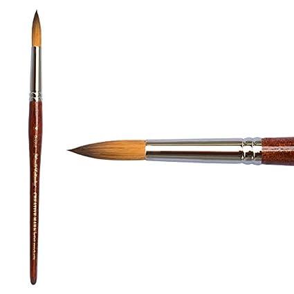 Creative Mark Mimik Kolinsky Synthetic Sable Short Handled Brush- Flat #6