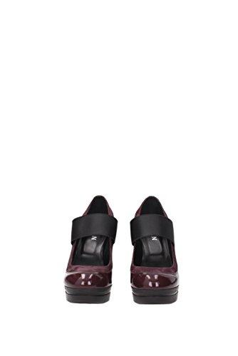 mujer Zapatos para de vestir Violeta Hogan de Piel Spwq4nCBO