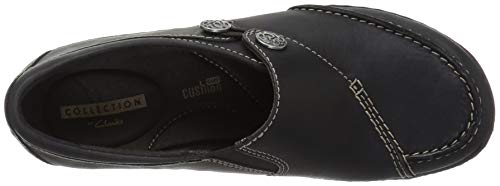 Q Leather Clarks Black Lane Ashland Womens gZqZn1Tz