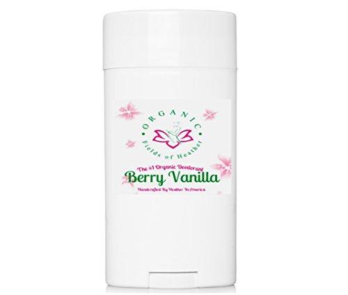 Organic Deodorant Berry Vanilla Healthy Deodorant Aluminum product image