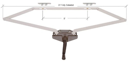CRL Awning Window Operator, Dual Pull, Roto-Gear, Bronze, 25
