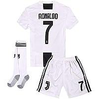 2018-2019 Home C Ronaldo #7 Juventus Kids Or Youth Soccer...