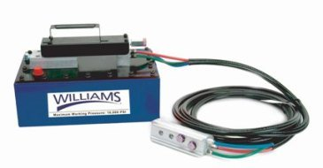Williams Hydraulics 5AS380L Air Pump with Remote Control by Williams