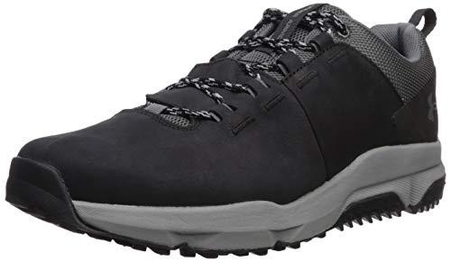 Under Armour Men's Culver Low Waterproof Sneaker Hiking Shoe, Black (001)/Pitch Gray, 12