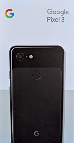 Google Pixel 3 Unlocked GSM/CDMA - US Warranty (Just Black, 128GB)