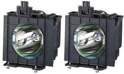 Replacement for Panasonic Etlad40w Lamp /& Housing Projector Tv Lamp Bulb by Technical Precision