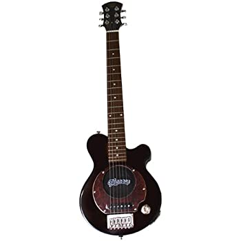 pignose pgg 200 deluxe electric guitar with built in amp red musical instruments. Black Bedroom Furniture Sets. Home Design Ideas