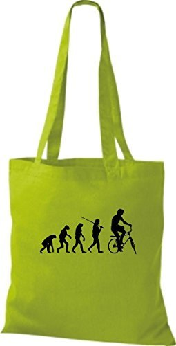 For Shirtinstyle Bag Fabric Yellow Women Cotton Lime qqgZzwOR
