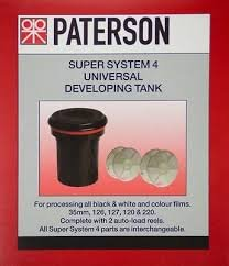 Paterson Universal tank and 2 reels-#115