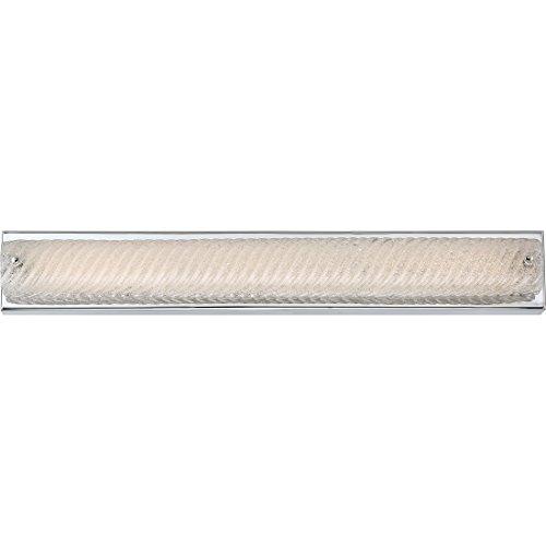 Quoizel PCED8528C Platinum Collection Endless LED Bath Light, Polished Chrome (Sandblasted Platinum)