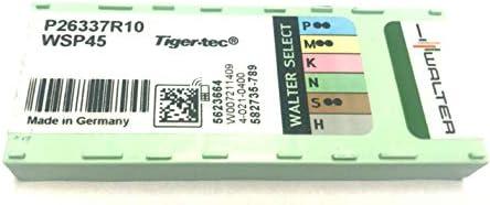 10 Wendeplatten P26337R10 WSP45 - WALTER Tiger-tec