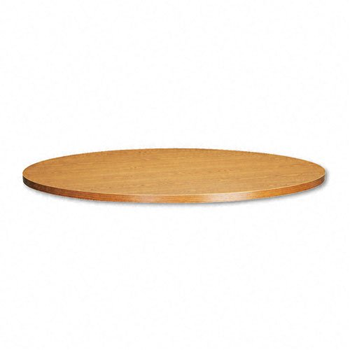 Basyx RB48TM 48-Inch Diameter Round Conference Table Top, Medium Oak ()