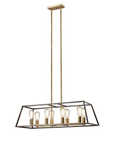 Trans Globe Lighting 10468 ROB Adams Long Indoor Rubbed O...