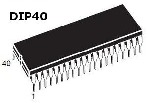 Lot de 2/z8420bb1/| 6/MHz DIP40/Bo/îtier stmicroe Select Electronics z80/a DMA Direct Memory Access Controller