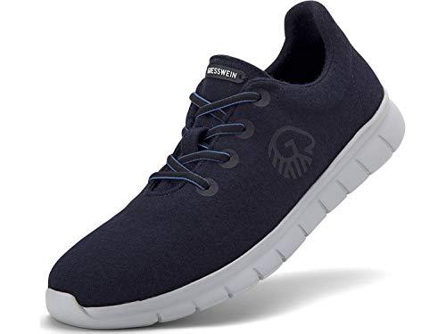 Women Dk Runners Black Giesswein blau Merino qBvx6f