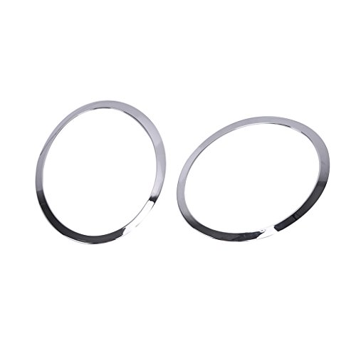 Left and Right Side Chrome Headlight Trim Ring For Mini Cooper 2007-2015 (Chrome Headlight Trim Rings)