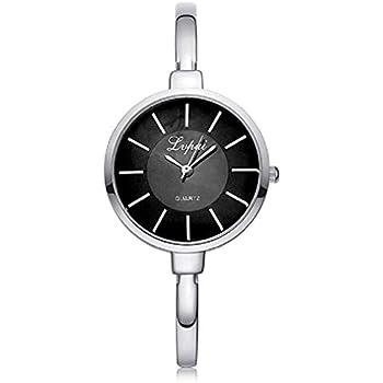 New Womens Watches, Windoson Women Quartz Watches Analog Ladies Watches Female Watches Stainless Steel Watches (Silver)