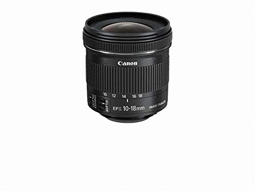 Canon EF-S 10-18mm f/4.5-5.6 IS STM Wide Angle Zoom/Image Stabilizer Lens Kit for Canon – International Version (No Warranty)