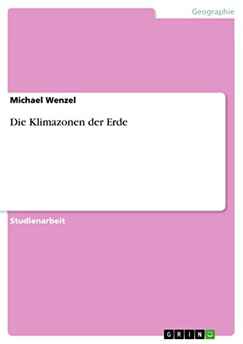 Die Klimazonen der Erde (German Edition)
