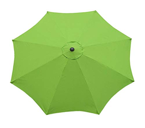 (Intеrnаtiоnаl Cоncеpts Deluxe Premium Collection Steel Pole Market Umbrella 9-Feet Lime Green Decor Comfy Living Furniture )