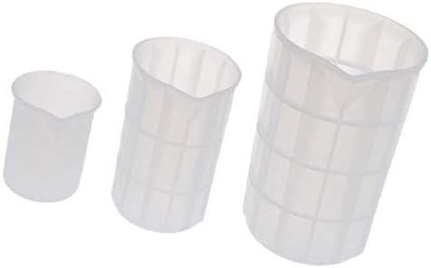 joyMerit シリコン 計量カップ 混合カップ 接着剤 カップ エポキシ樹脂計量カップ 100ml 350ml 700ml