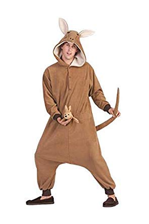 (RG Costumes Men's Rocky Raccoon, Gray/Black, One)