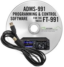 ADMS-991 Programming Software and RT-42 USB-A to USB-B cable for the Yaesu FT-991