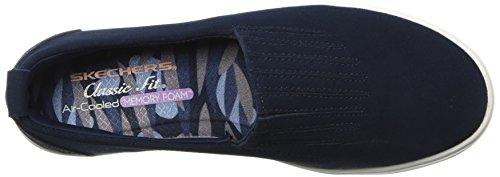 Comfort Europa Ajuste Marino Para Suela Clásico Zapatilla Skechers49517 Mujer Air Media Y De ZpgxRpdW