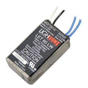 GE 66938 - 60 watt Output 120 volt Input Electronic Halogen Transformer (GELT60A12012LW 66938) by GE