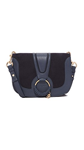 Women's Saddle Ultramarine Bag See Hana Chloe by EHSvWqp7