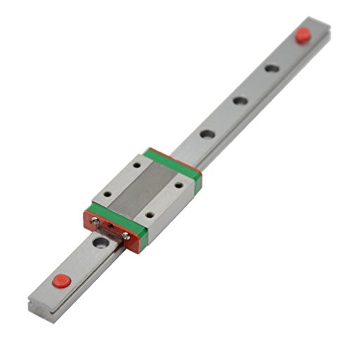 ReliaBot 200mm MGN12 Linear Rail Guide with MGN12H Carriage Block for 3D Printer and CNC Machine
