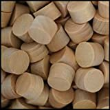 WIDGETCO 3/8'' Maple Wood Plugs, Face Grain(QTY 5,000)