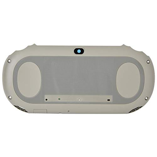 Back Cover Replacement for PS Vita 2000, Precise Cuts and Interfaces, Red, Gray (Optional) (Gray) ()