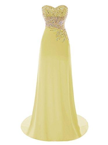 Fanciest - Vestido - trapecio - para mujer amarillo