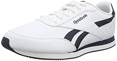 Reebok Men's Royal Classic Jogger 2L Trainers, White/Collegiate Navy, 7 US