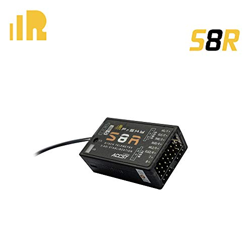 3 Channel Receiver Micro - FrSky S8R 8/16 Channel Receiver with 3-axis Stabilization