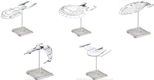 WizKids Star Trek Deep Cuts Spaceship Unpainted Miniatures Assortment