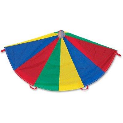 Champion Sports Nylon Multicolor Parachute, 24-ft. diameter, 20 Handles (CSINP24)