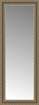 Posters 2 Prints 16 x 40 Libretto Antique Silver Custom Framed Mirror